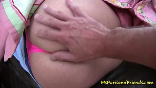 Her son cannot resist mommy&#039s ass