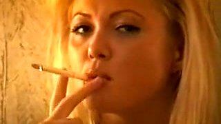 Amazing homemade Smoking, Fetish adult video