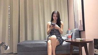 Fucking Chinese models in the hotel