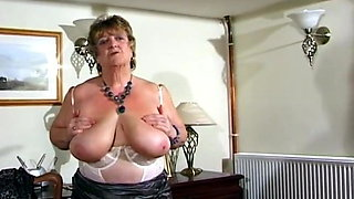 Beautiful BBW Granny Vid