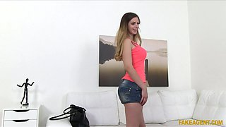 Stella Cox in British Babe Fucked by Euro Agent - FakeAgent