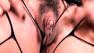 Sexy cougar with big clit 3
