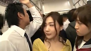 japanese mother and daughter abused bus - hot porn