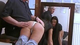 Spanked Secretaries Vol 3 - Sisters
